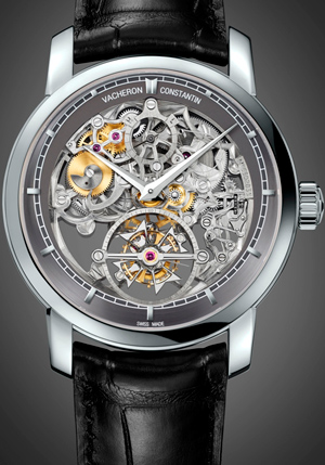 Часы Vacheron Constantin Patrimony Traditionnelle 14-day Tourbillon Openworked (Réf. 89010/000P-9935)