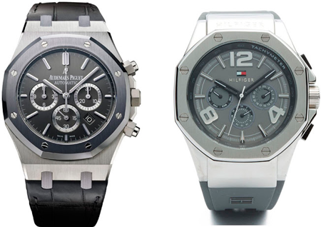 Часы Audemars Piguet Royal Oak и Tommy Hilfiger Eton