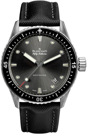 Часы Blancpain Fifty Fathoms Bathyscaphe (Ref. 5000-1110-B52 A)