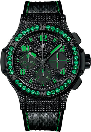 Часы Big Bang Black Fluo от Hublot