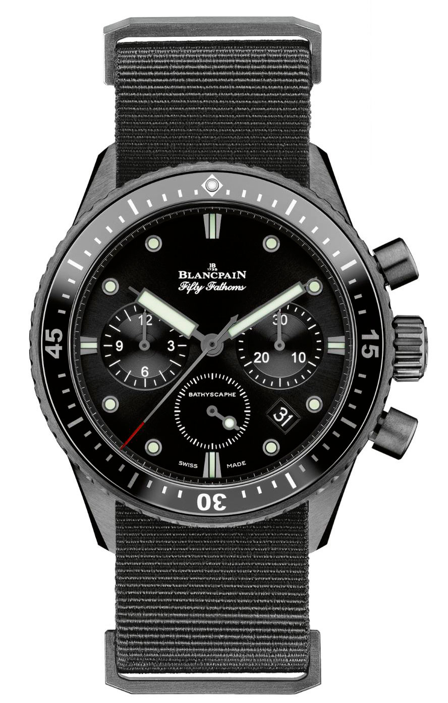 Fifty Fathoms Bathyscaphe Chronograph Flyback