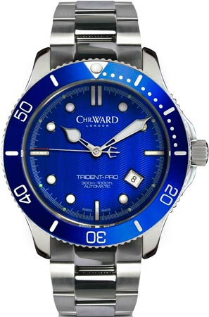 часы C60 Trident Pro Blue от Christopher Ward