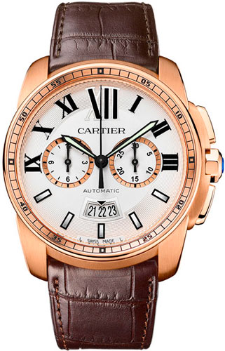 Часы Calibre de Cartier Chronograph
