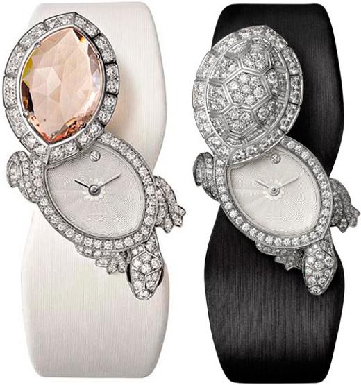 Часы Cartier Tortue Secret watch