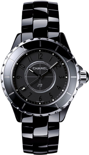 Часы Chanel J12 Intense Black