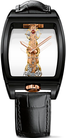 Часы Corum Ceramic Golden Bridge (Ref.B113/01621 - 113.161.15/0001 0000R)