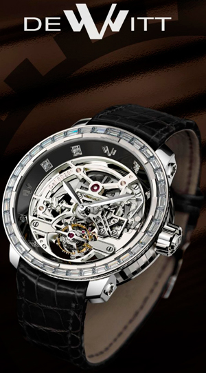 Часы Twenty-8 Skeleton Tourbillon от DeWitt