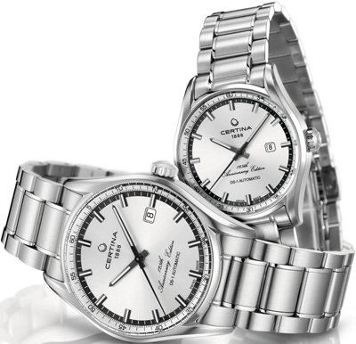 Часы Certina DS-1 Automatic Anniversary Edition Pair