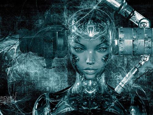 робот человек фото