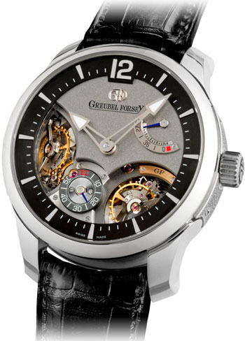 часы Double Balancier 35 Degrees от Greubel Forsey