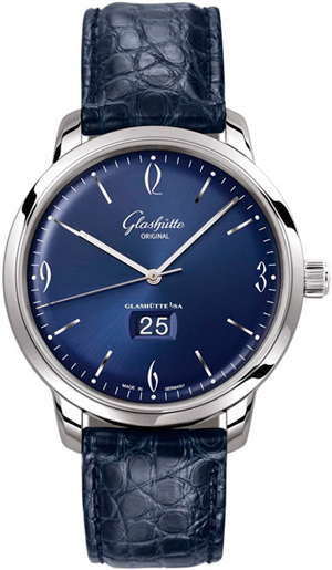 ���� Glashütte Original Sixties Panorama Date (Ref. 2-39-47-06-02-04)