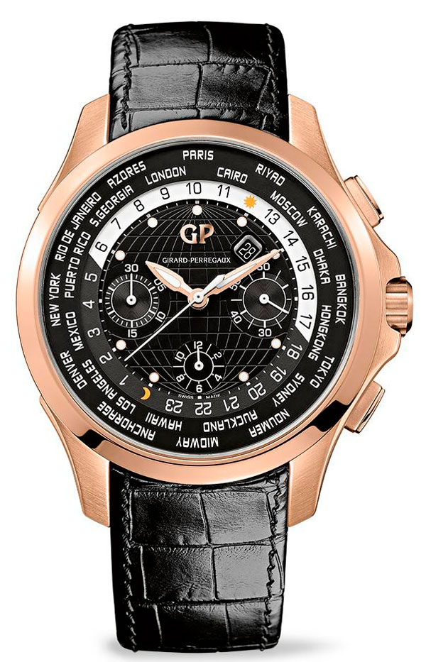 Часы Traveller WW.TC Rose Gold