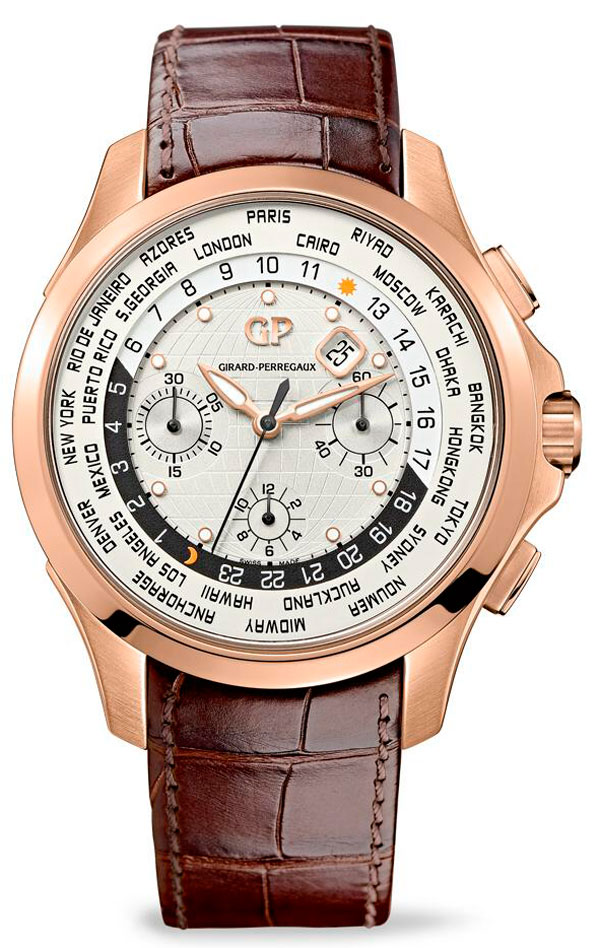 Часы Traveller WW.TC Rose Gold (Ref. 49700-52-134-BB6B)