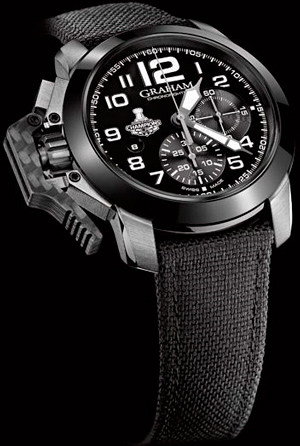 Часы GRAHAM Chronofighter Oversize LA Kings