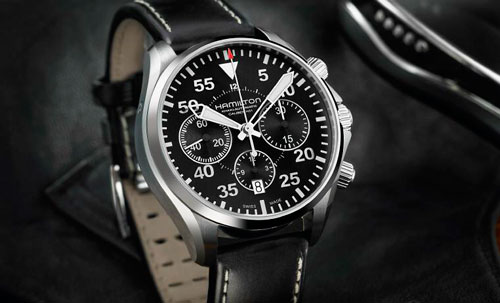 часы Khaki Aviation Pilot Auto Chrono