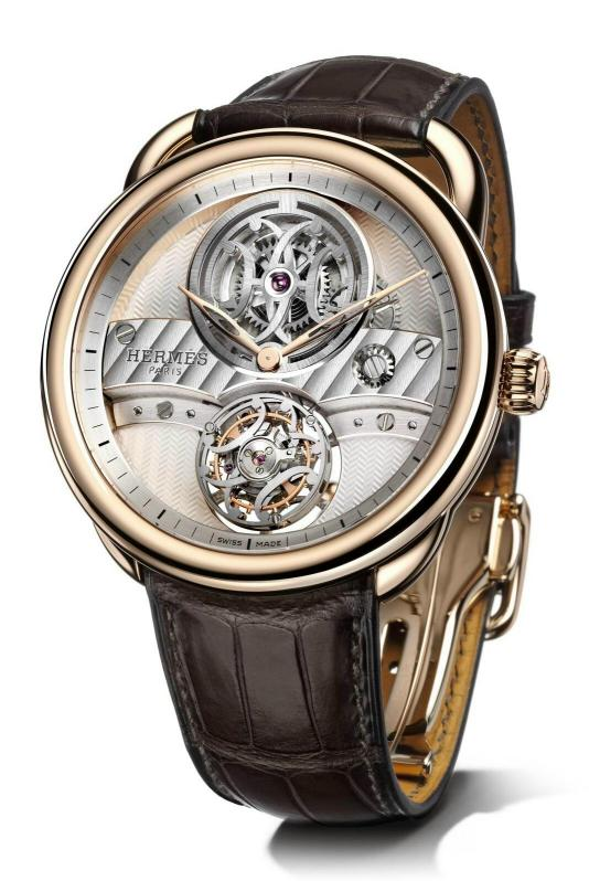 Новинка Arceau Lift Tourbillon от HERMÈS