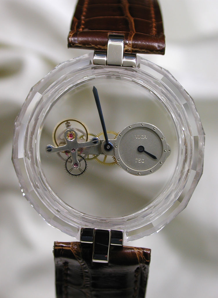 Hora Nova Tourbillon Regulator от Vincent Calabrese