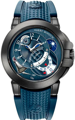 Часы Harry Winston Project Z6 Blue