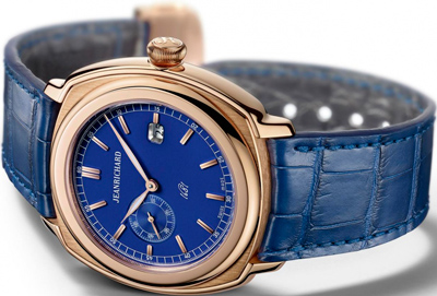 Часы JEANRICHARD 1681 Blue Small Seconds