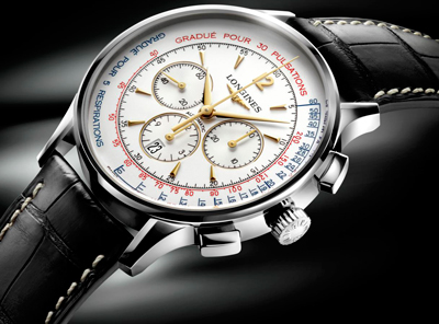 Asthmometer-Pulsometer Chronograph от Longines