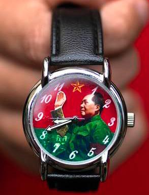 Часы с изображениями известных лиц