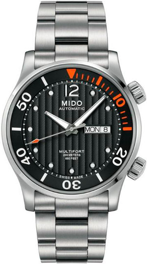 часы Multifort Two Crowns Diver от Mido