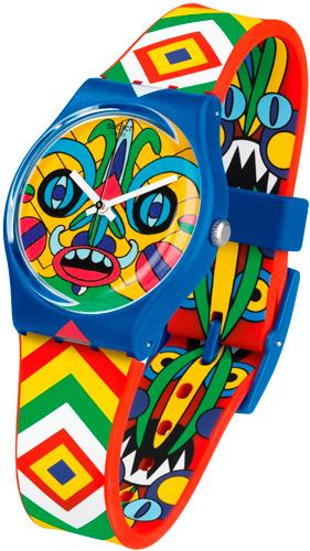 Часы Swatch Art Specials KUKULAKUKI (GZ287S)