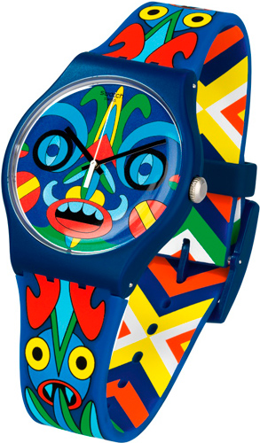 Часы Swatch Art Specials KUKULAKUKU (SUOZ171)