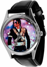 часы Micheal Jackson Rainbow Memorial Wrist Watch