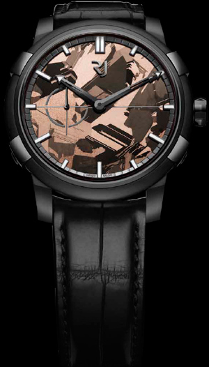 Часы Romain Jerome 1969 Black Metal Brown Silicium (Ref. RJ.M.AU.021.01)