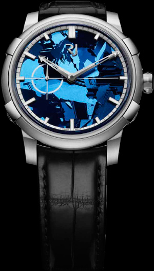Часы Romain Jerome 1969 Heavy Metal Blue Sillicium (Ref. RJ.M.AU.020.02)