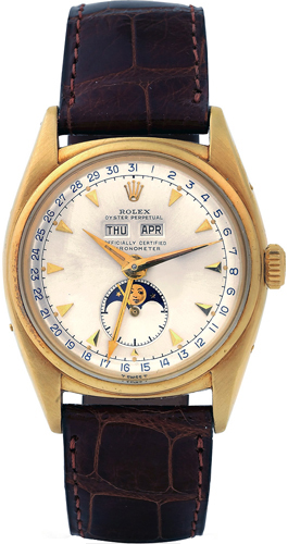 "Oyster Perpetual, Officially Certified Chronometer,"" Made in the early 1950s"
