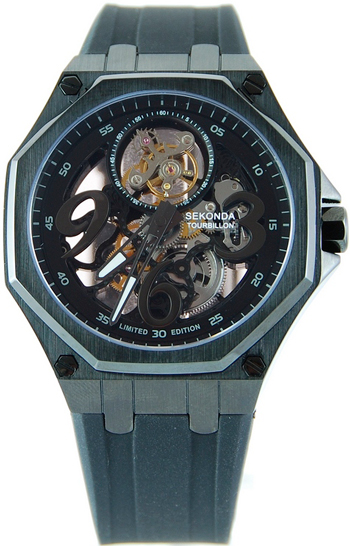 часы-скелетон Sekonda Skeleton Tourbillon