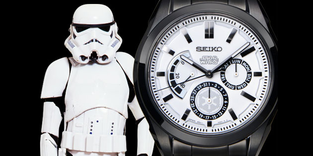 часы Seiko Star Wars