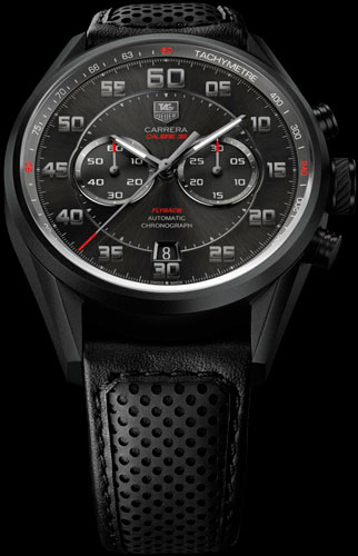 часы Carrera Calibre 36 Flyback Racing от TAG Heuer