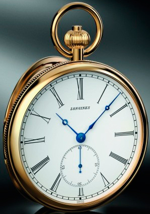 реплика карманных часов Longines Lépine 180th Anniversary Limited Edition