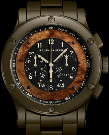 часы RL67 Automotive Chronograph от Ralph Lauren