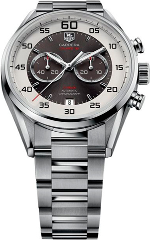 Часы Carrera Calibre 36 Chronograph Flyback 43 mm от TAG Heuer