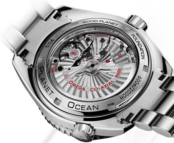 ������ ������� ����� Omega Seamaster Planet Ocean GMT 600M