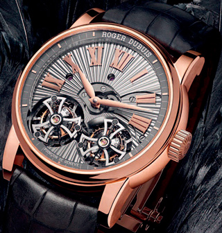 Часы Hommage Double Flying Tourbillon от Roger Dubuis