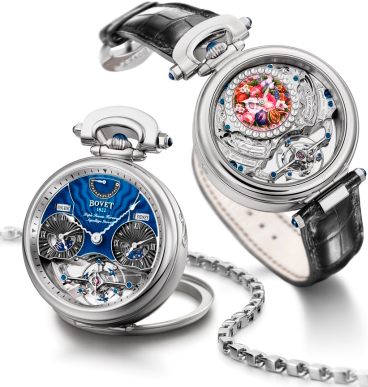 Часы Bovet Rising Star Тourbillon - обладатель сертификата Fleurier Quality Foundation