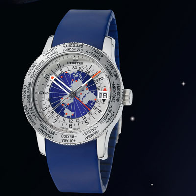 часы B-47 World Timer GMT