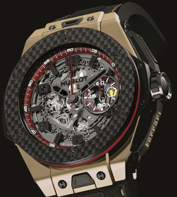 часы Big Bang Ferrari Magic Gold Watch China Limited Edition