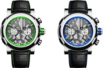 Часы Steampunk Chrono Colours от RJ-Romain Jerome