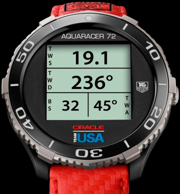 «Умные» часы Aquaracer 72 Digital Smartwatch от TAG Heuer