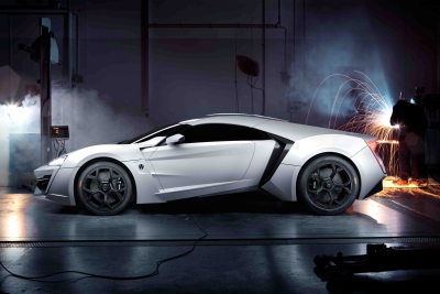 суперкар Lykan Hypersport