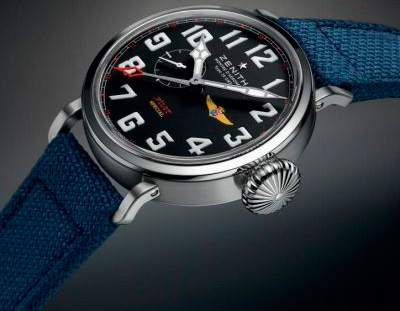 Часы Pilot Montre d'Aéronef Type 20 GMT Tribute to Aviazione Navale от Zenith