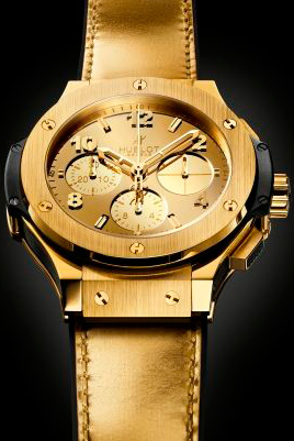 Часы Big Bang Hublot Zegg & Cerlati Yellow Gold
