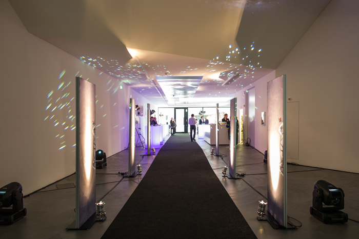 Entrance to Zenith's BaselWorld Conference