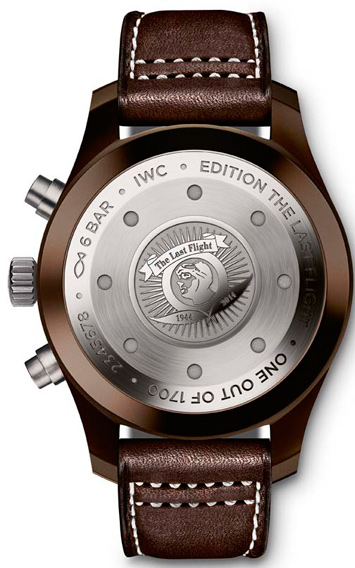 IWC Pilot's Watch Chronograph Edition « The Last Flight » Ref. IW388004